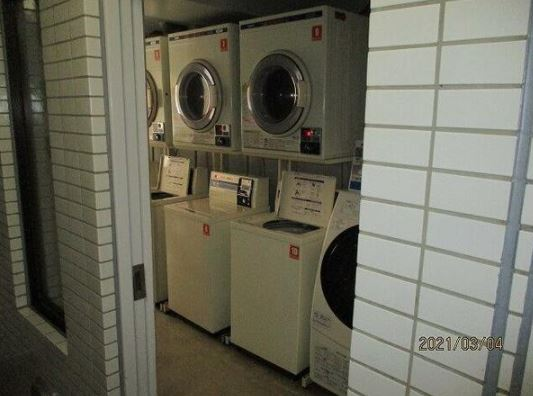 Common Area (Coin Laundry in the building)