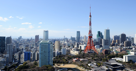 (Nice view of Tokyo Tower)