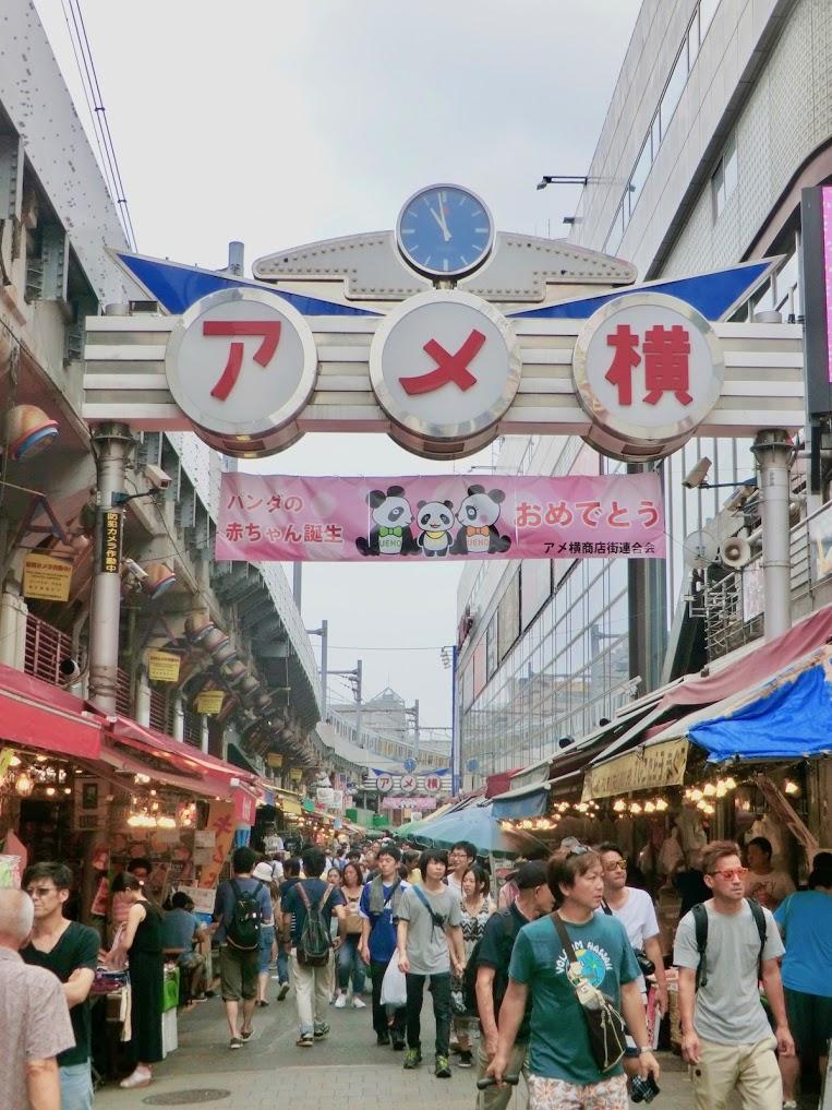 Neighborhood ('Ameyoko' Shopping Street in Ueno)