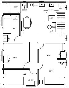 Floorplan (Room 202 is available now.)