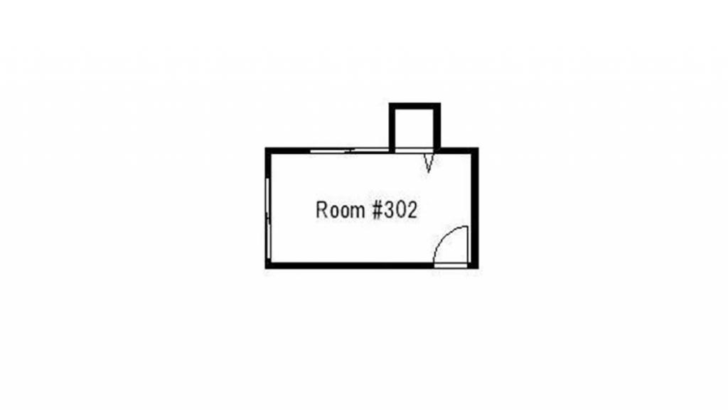 Floorplan (Room 302)