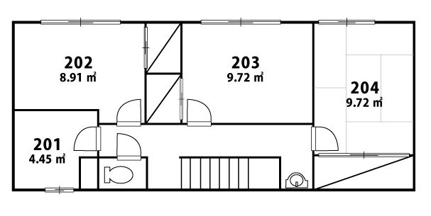 Floorplan (Room 201 is available now!)