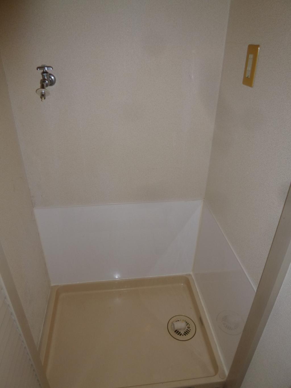 Washroom (Washing machine space inside)